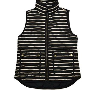 J. Crew Excursion Quilted Puffer Vest EUC